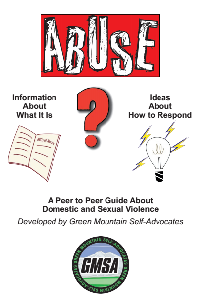 Cover of Peer to Peer Guide About Domestic and Sexual Violence.